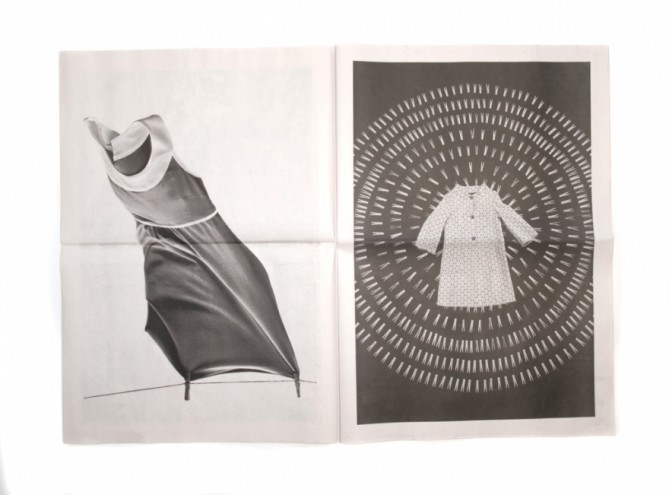 Clothes Pegs brochure for fashion designer Anni Kaun. Courtesy of Stefan Sagmeis