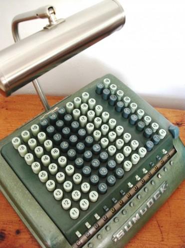 Mr Sumlock - The Adding Machine Desk Lamp.