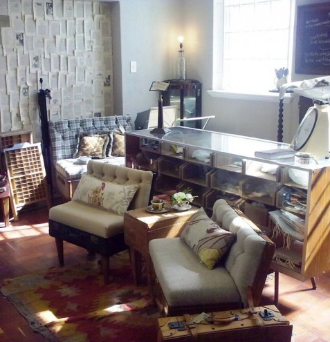 Recreate showroom.