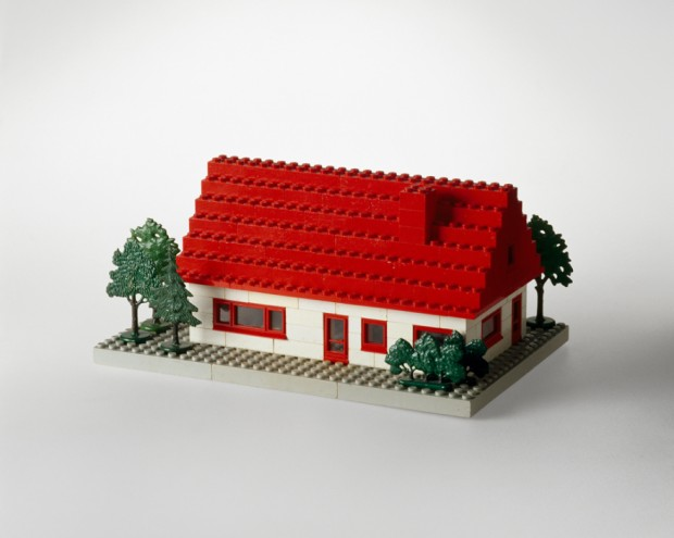 Lego hus/Lego bricks, 1958. Photo: Design Museum Denmark.