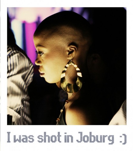 I was shot in Joburg.