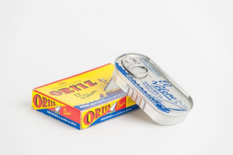 Tin of Anchovies. Photo: Dominic French.