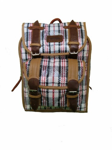 Nostalgia backpack by Dennis Chuene.