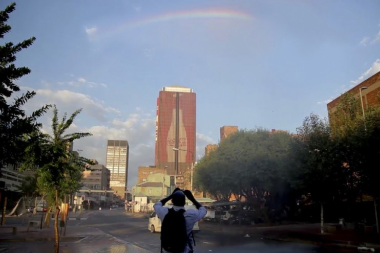 """A Rainbow for the Rainbow Nation"" campaign for Coca-Cola South Africa."