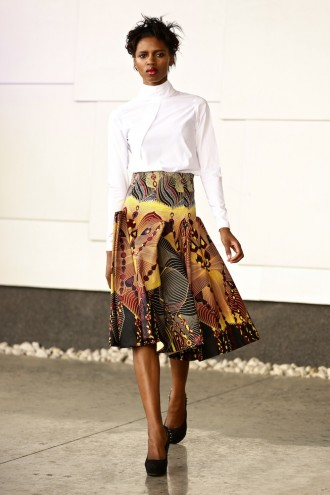 2015 Spring/Summer collection by David Tlale. Image: Simon Deiner / SDR Photo