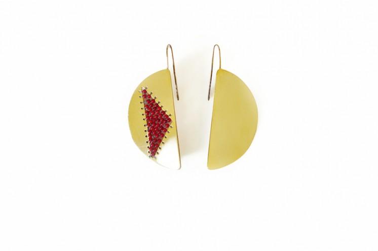 Hill Earrings by SMITH Jewellery.