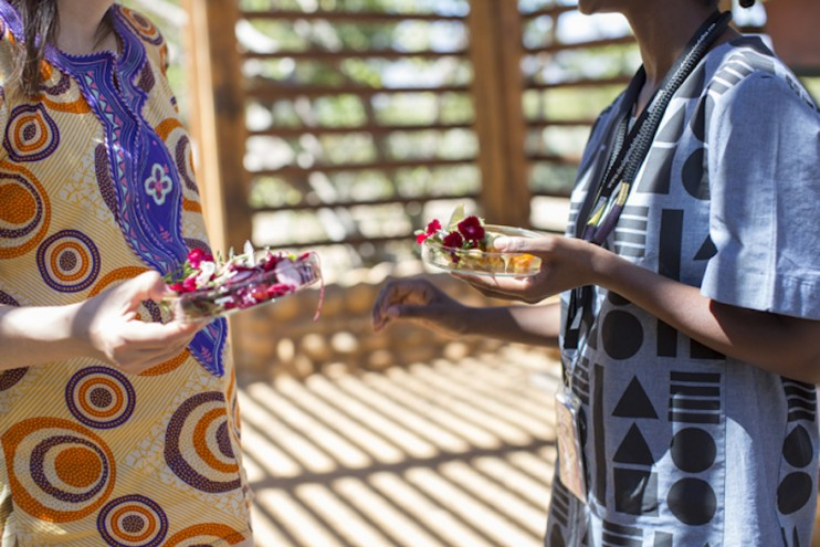 A feast for all the senses - Sindiso Khumalo at Design Indaba's Speaker lunch at Babylonstoren. Images curtesy of Adel Ferreira.