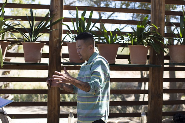 A feast for all the senses - Roy Choi at Design Indaba's Speaker lunch at Babylonstoren. Images curtesy of Adel Ferreira.