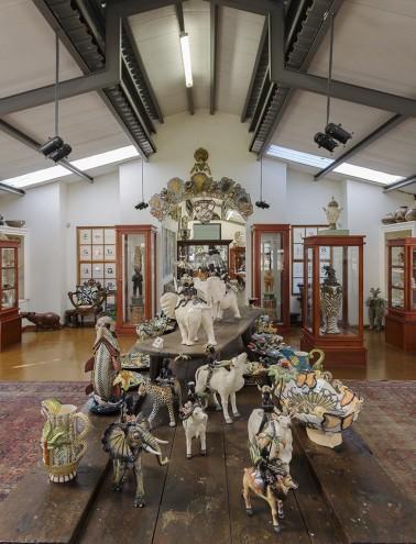 The gallery and studio of famed ceramics group Ardmore. Photo: Jac de Villiers. Stylist: Liane Visser.