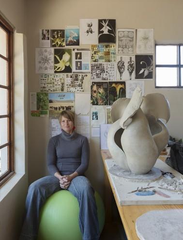 Ceramicist Astrid Dahl. Photo: Jac de Villiers. Stylist: Liane Visser.