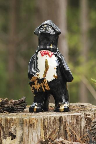 The Tale of Balaclava Bear by sootcookie ceramics and Alex Goldberg