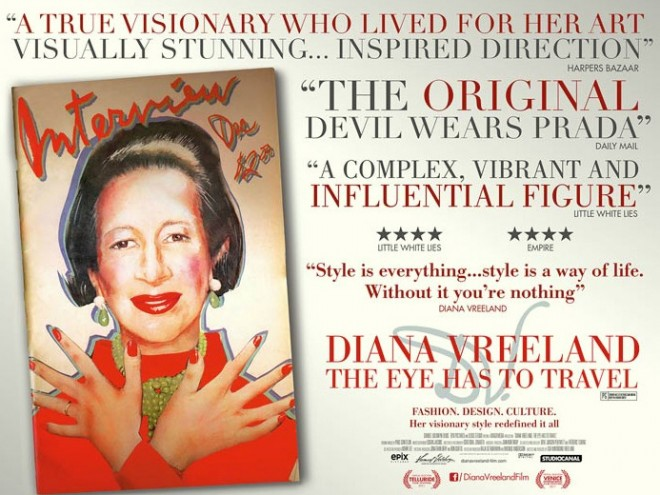 Diana Vreeland: The Eye Has to Travel.
