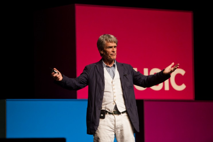 Sir John Hegarty at Design Indaba Conference 2013