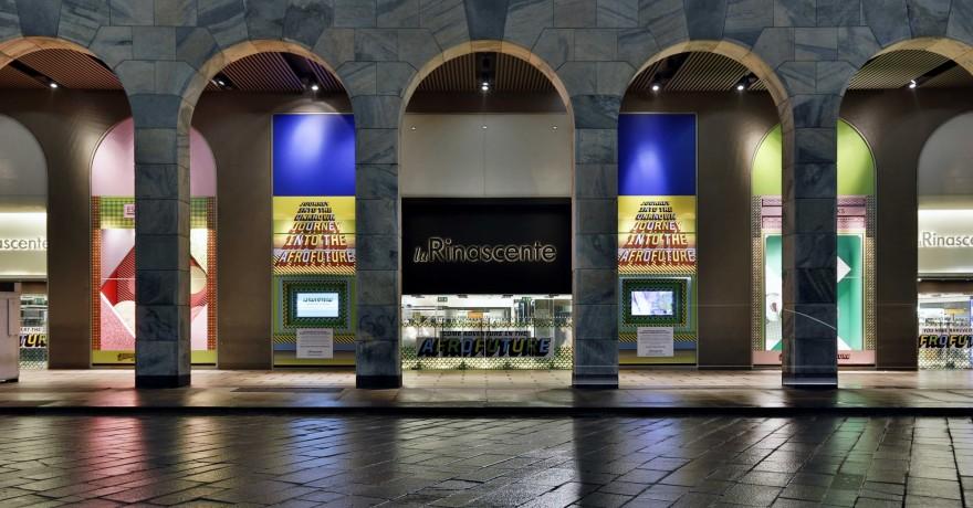Afrofuture Windows - Milan Furniture Fair 2013