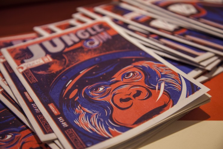 Jungle Jim magazine at Afrofuture, Milan Furniture Fair 2013