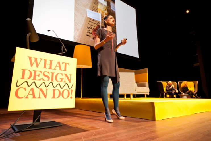 Marije Vogelzang at What Design Can Do 2013
