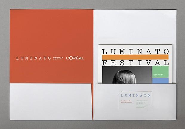 Luminato Festival Identity by Michael Bierut & Hamish Smyth.