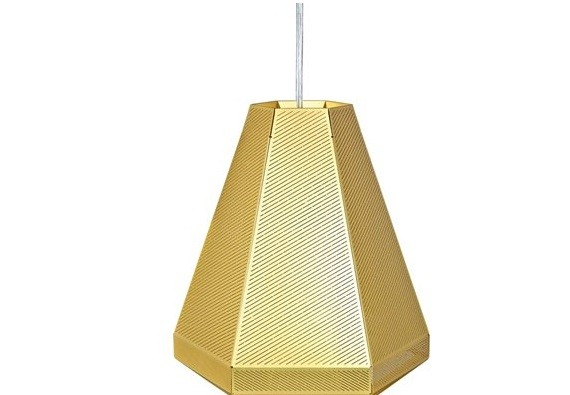 Cell Tall Pendant by Tom Dixon.