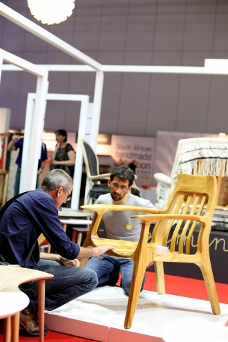 Furniture at Design Indaba Expo