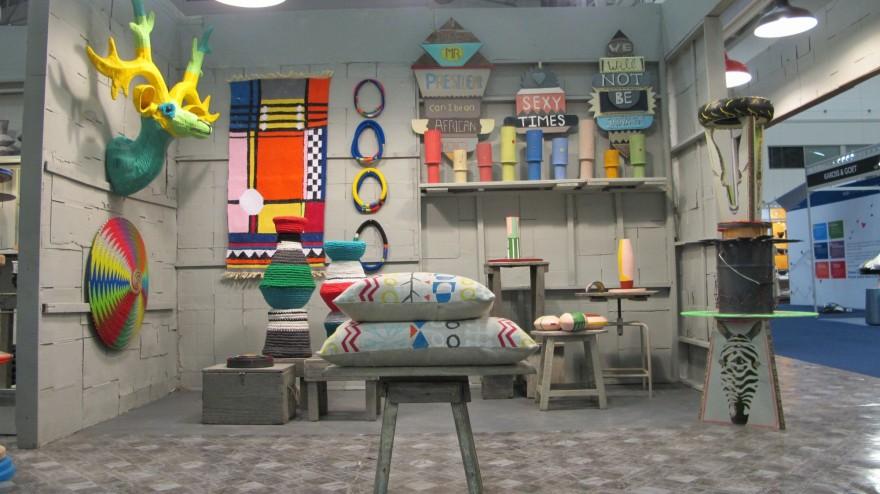 Totemism meets Memphis at Design Indaba Expo 2013