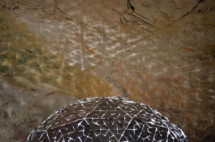 Lotus Dome by Daan Roosegaarde.