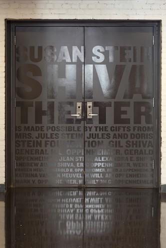Public Theatre by Paula Scher.