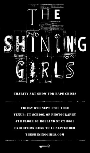 The Shining Girls exhibition poster.