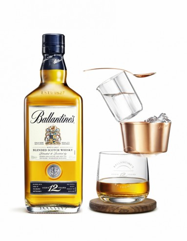 Ballantine's 12 Ballance by Front.