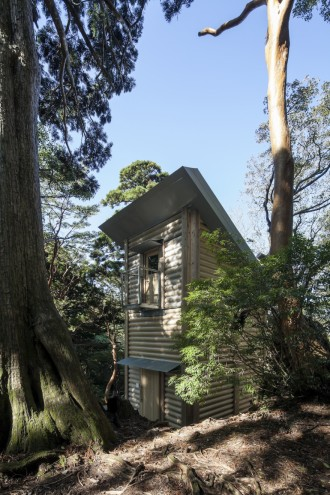 Yakushima Takatsuka Lodge by Shigeru Ban. Image: Hiroyuki Hirai.