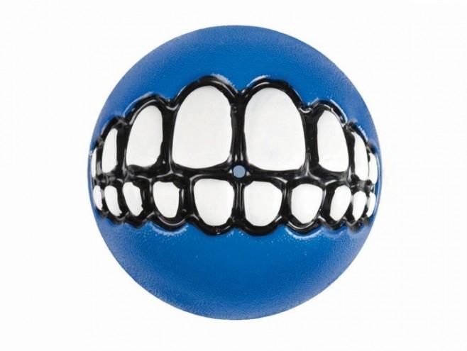 blue Rogz Grinz ball by Porky Hefer