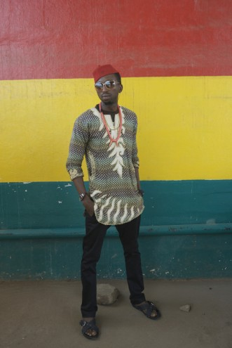 Street style in Ghana