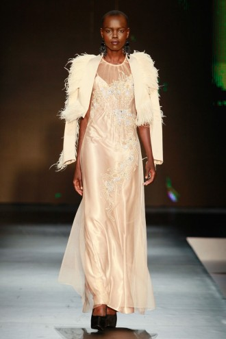 KLûK CGDT show at Nigeria Fashion Week 2012