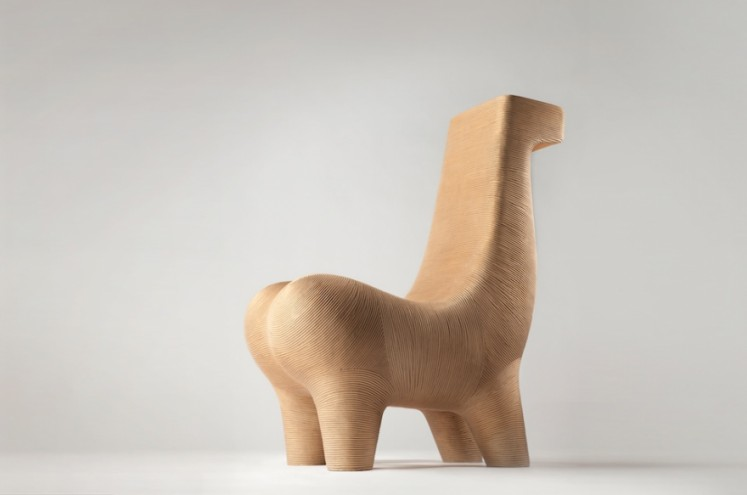 B.M Horse Chair Chair by Satyendra Pakhalé.