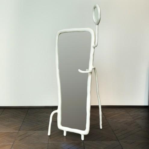Maarten Baas' full length mirror for Berluti. Images: Berluti and Carpenters Workshop Gallery.