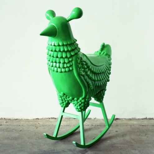 Jaime Hayon's Green Chicken. Image: Jaime Hayon.