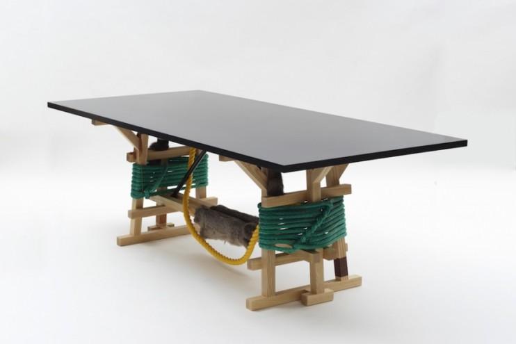 The Silent Village furniture collection by Brynjar Sigurðarson.