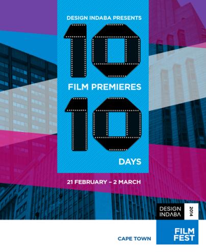 Design Indaba FilmFest 2014 poster