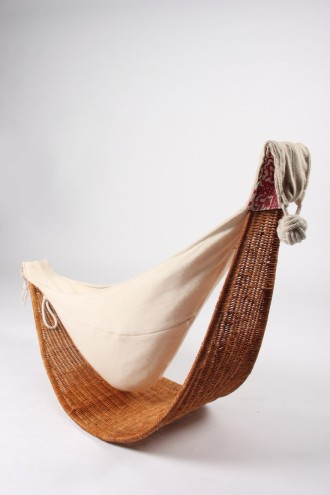KNUS baby carrier & hammock nominated by Design Indaba Expo team.
