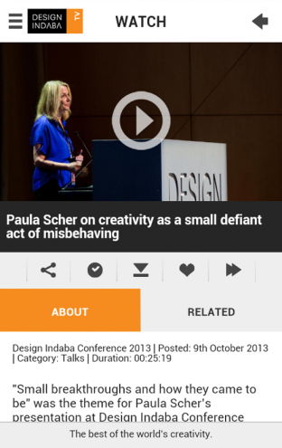 Watch: Paula Scher's talk at Design Indaba Conference 2013