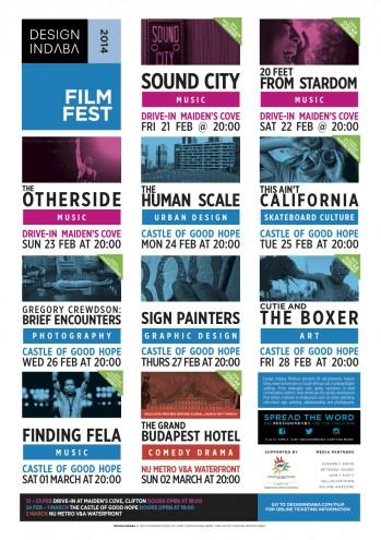 Design Indaba FilmFest 2014: Programme