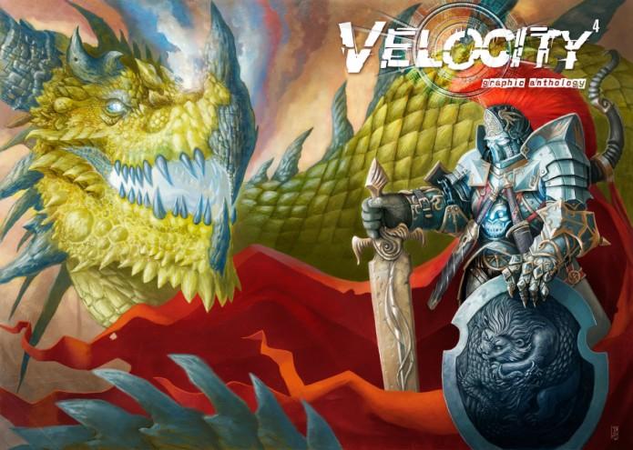 Moray Rhoda's comic book, Velocity