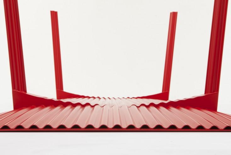 Ripple Table 2.0 by Benjamin Hubert.