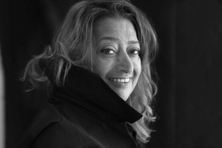 Zaha Hadid Image: ©Brigitte Lacombe.