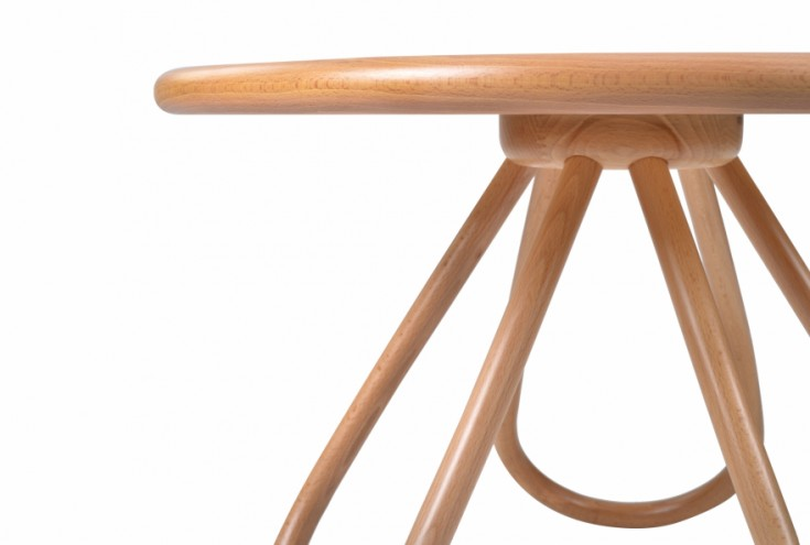 Arch Table by Front.