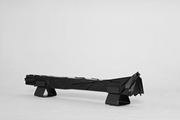 The Untitled bench (After W.B) by Laurie Wiid Van Heerden. Image: Justin Patrick.