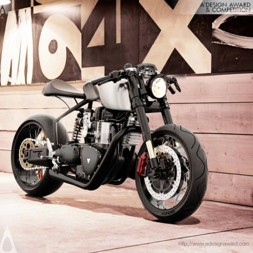 A' Design Award & Competition: Black Shadow H-E Concept by Mark Norton Menéndez.