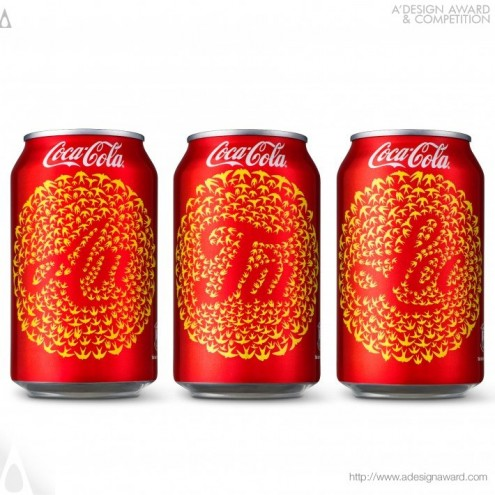 A' Design Award & Competition: Coca-Cola Tet 2014 Soft drink packaging by Rice Creative.