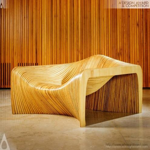A' Design Award & Competition: Duna Loungechair by Mula Preta Design.