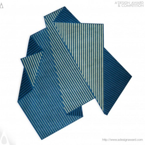 A' Design Award & Competition: Folded Tones Carpet by Enoch Liew.