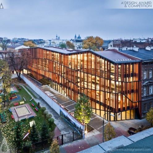 A' Design Award & Competition: Malopolska Garden of Arts (MGA) by Ingarden & Ewý Architects.